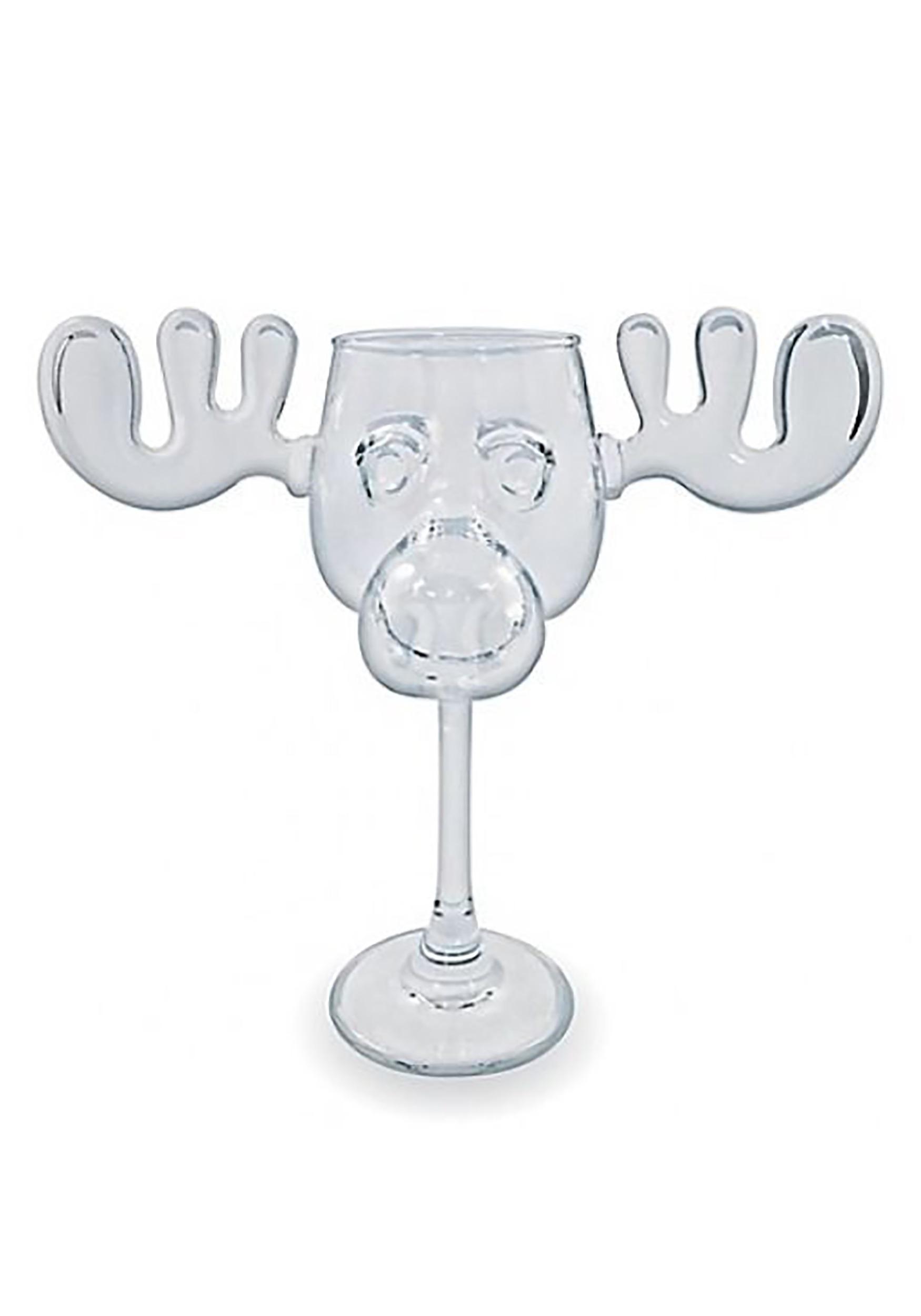 christmas vacation moose mug wine glass1 - Moose Mugs Christmas Vacation