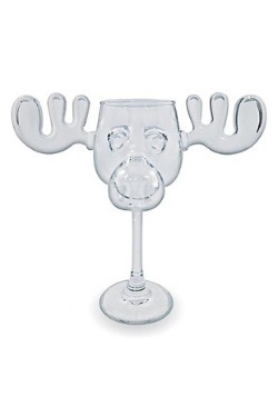 Christmas Vacation Moose Mug Wine Glass1