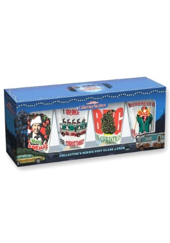 Christmas Vacation 16 oz Pint Glass 4 pc Set