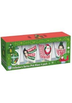 Elf 16 oz Pint Glass 4 pack