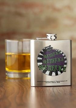 Beetlejuice Summoning 8 oz Flask