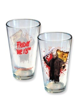 Friday the 13th Jason 16 oz Pint Glass