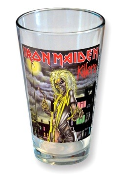 Iron Maiden Killers Classic Cover 16 oz Pint Glass