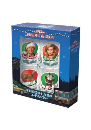 Christmas Vacation Shotglass 4 Pack