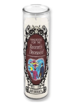 Beetlejuice Handbook for the Recently Deceased Tall Candle