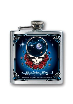 Grateful Dead 8 oz Flask