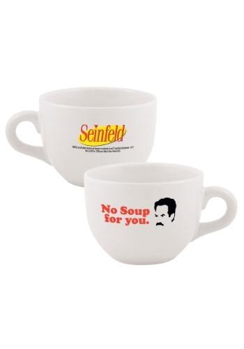 Seinfeld No Soup For You 24 oz Soup Mug