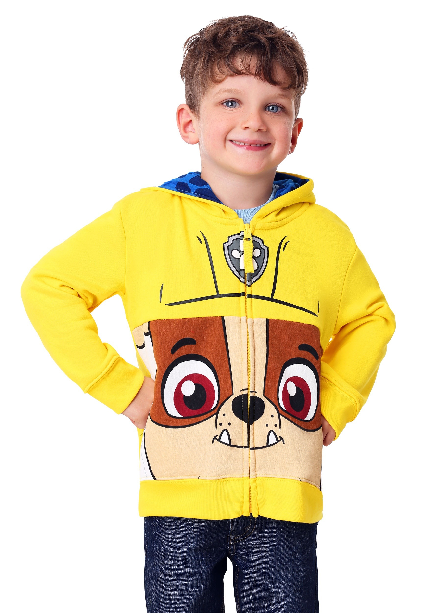 Paw Patrol Boys Toddler Boys Rocky Costume Zip-up Hoodie