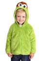 Faux Fur Oscar the Grouch Sesame Street Costume Hoodie