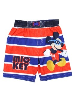 Mickey Mouse Boys Toddler Swim Shorts front