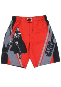 Star Wars Darth Vader Boys Swim Short1