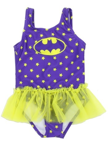 Batgirl Girls Toddler Swimsuit1