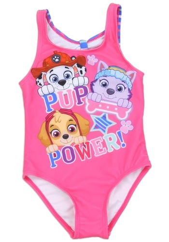 Paw Patrol Girls Toddler Swimsuit1