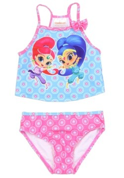 Shimmer & Shine Girls Toddler Swimsuit1