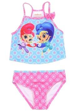 Shimmer & Shine Girls Toddler Swimsuit1