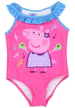 Peppa Pig Girls Toddler Swimsuit1