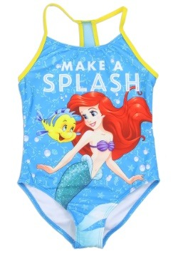 Girls Little Mermaid Ariel Swimsuit1