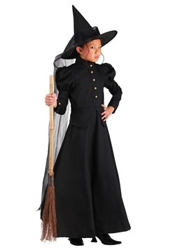 Deluxe Witch Girls Costume