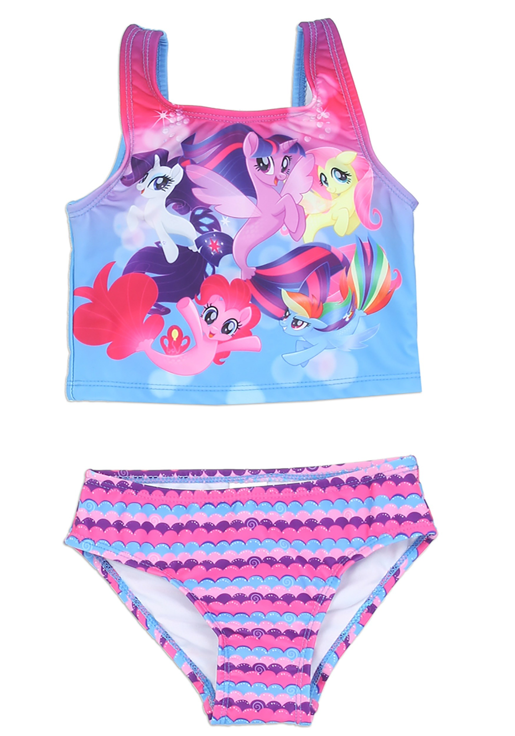 aaa11e67643c0 My Little Pony Girls 2 Piece Toddler Swimsuit1