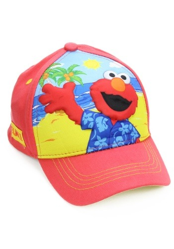 Elmo Boys Cap with 3D Pop design on front