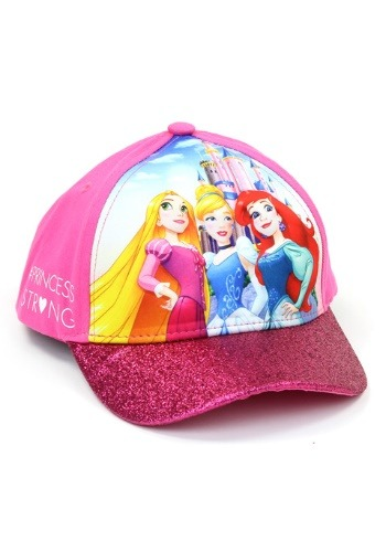 Princess Girls Cap with 3D Pop Design