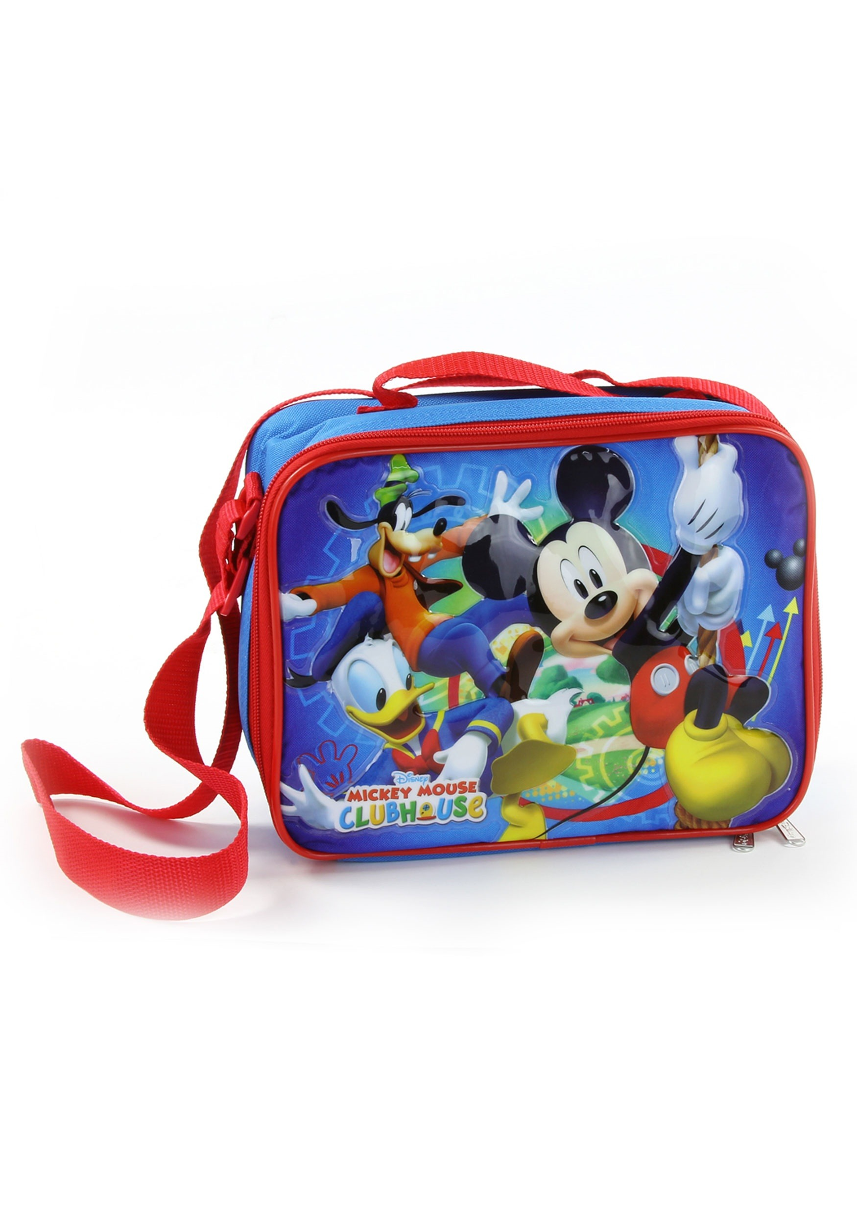 b6bcde65d87 Mickey Mouse Insulated Lunch Bag with Shoulder Strap