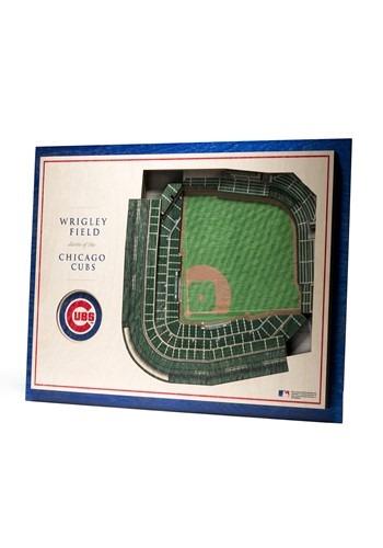 Chicago Cubs 5 Layer StadiumViews 3D Wall Art-update1