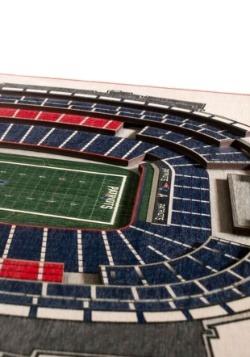 New England Patriots 5 Layer Stadiumviews 3D Wall Art 2