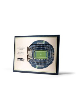 Seattle Seahawks 5 Layer Stadiumviews 3D Wall Art