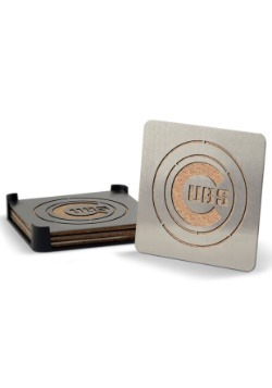 Chicago Cubs Boaster Coaster Set