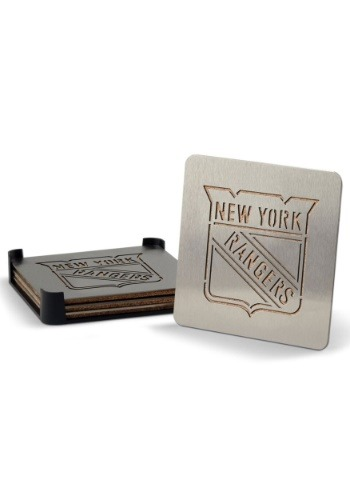New York Rangers Boaster Coaster Set