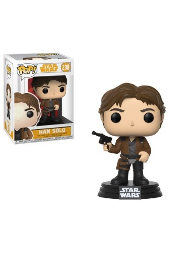 Pop! Star Wars: Solo Bobblehead Figure Han