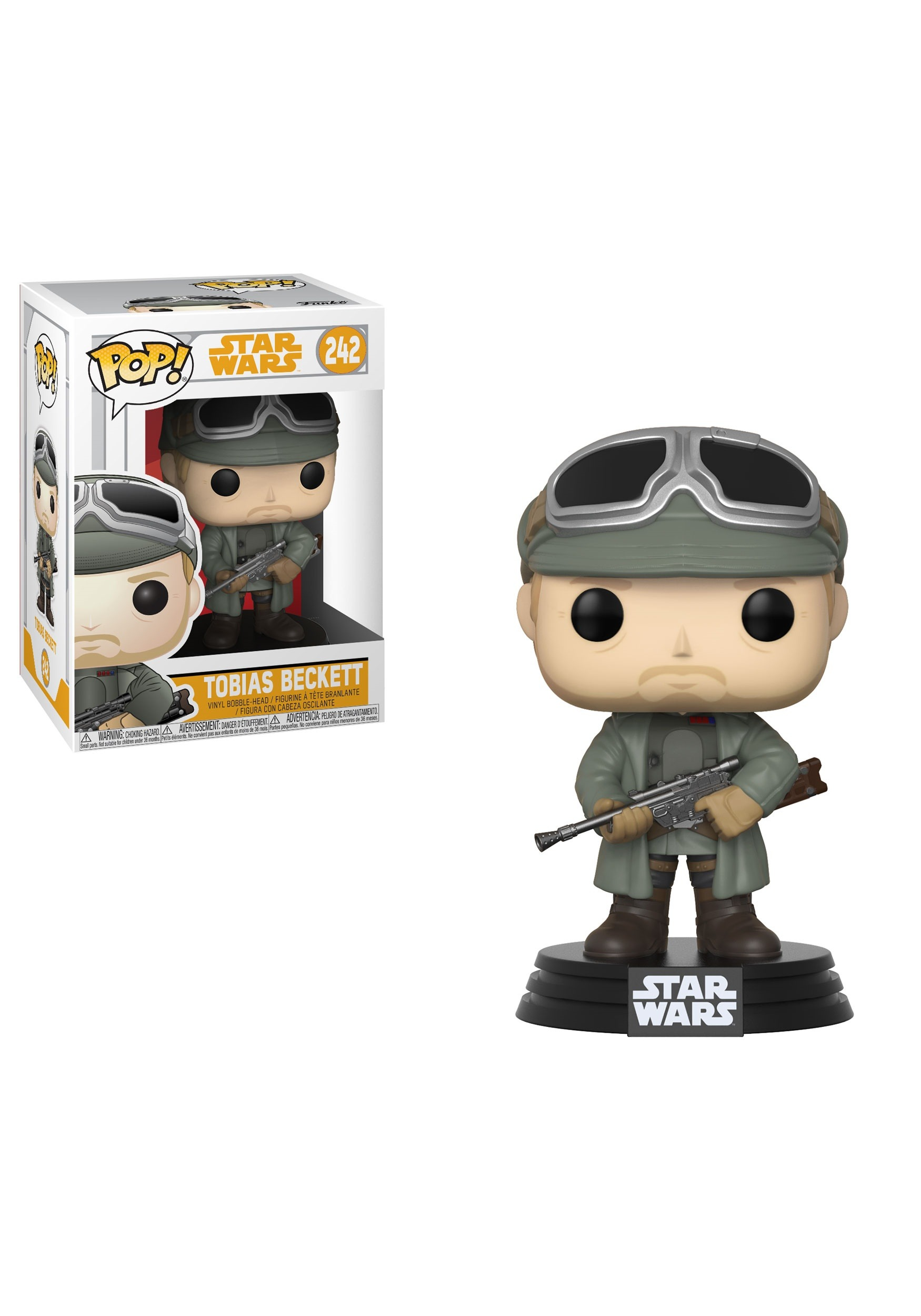 POP! Star Wars: Solo- Tobias Beckett Bobblehead Figure FN26979