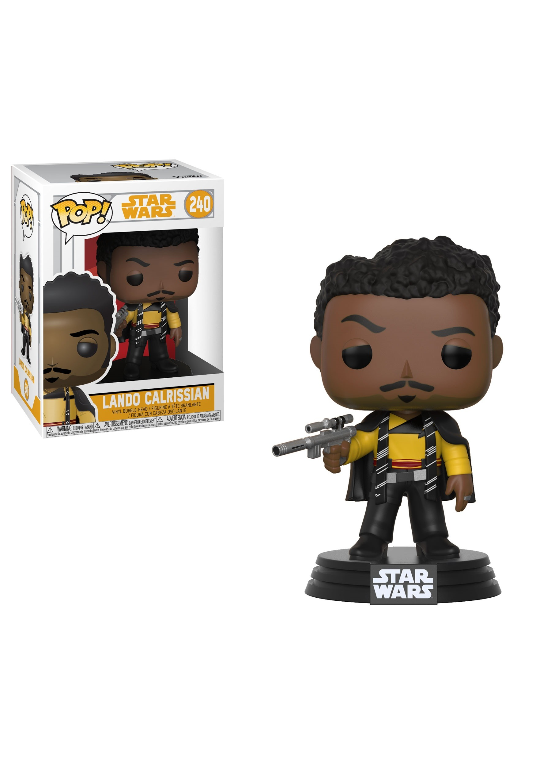 POP! Solo: A Star Wars Story Lando Main Outfit Bobblehead Figure FN26982