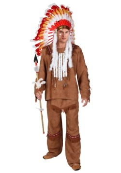 Men's Deluxe Native American Costume Update2 Main