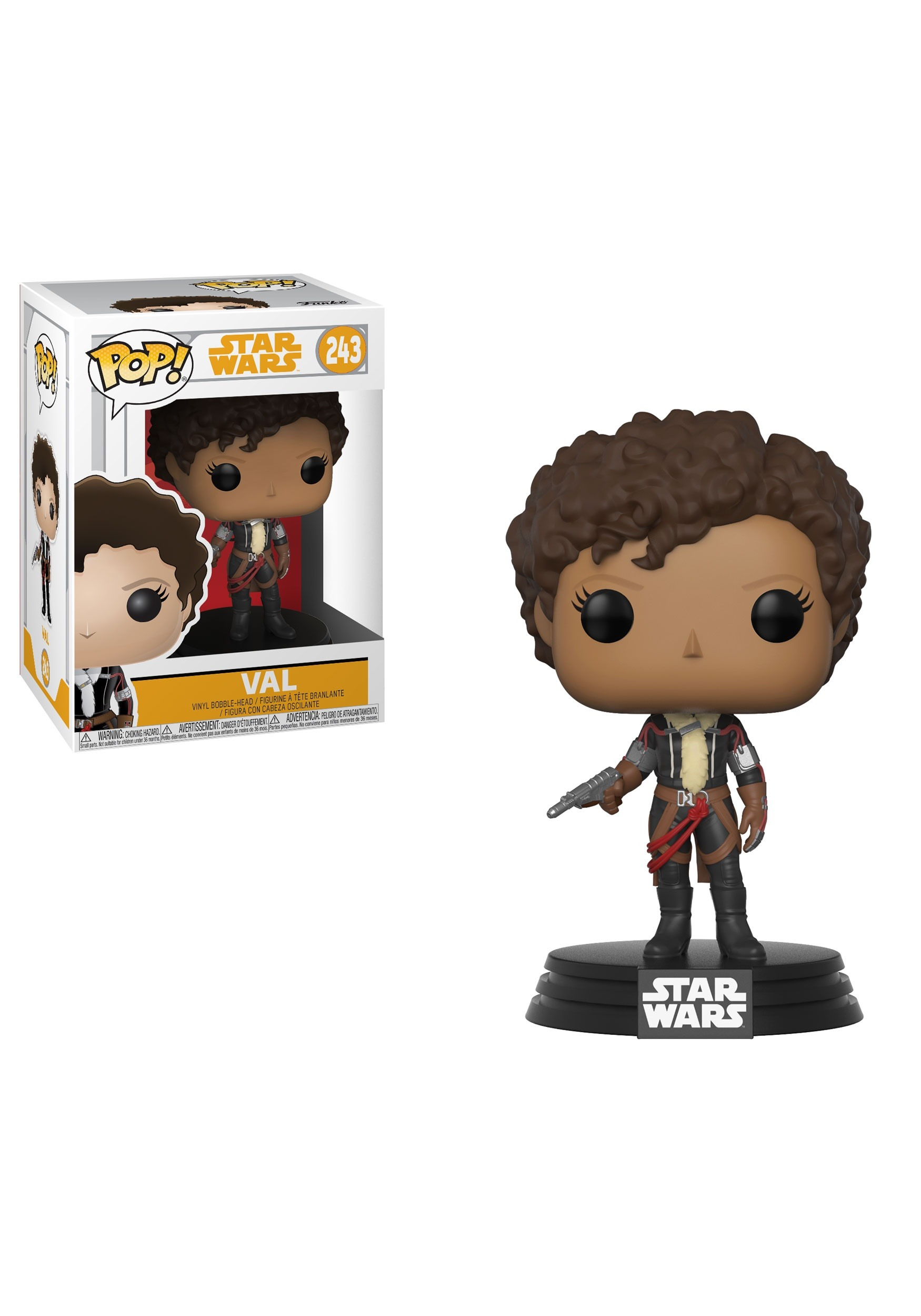 POP! Star Wars: Solo- Val Bobblehead Figure FN26989