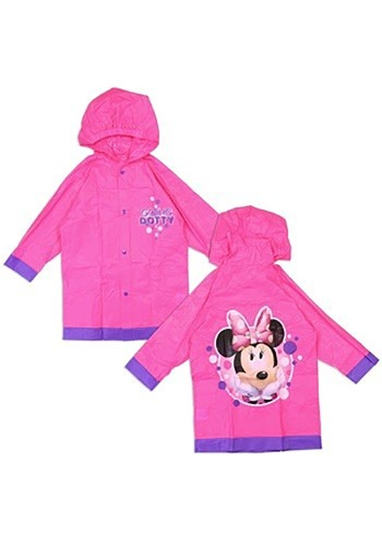 Minnie Mouse Girls Rain Slicker
