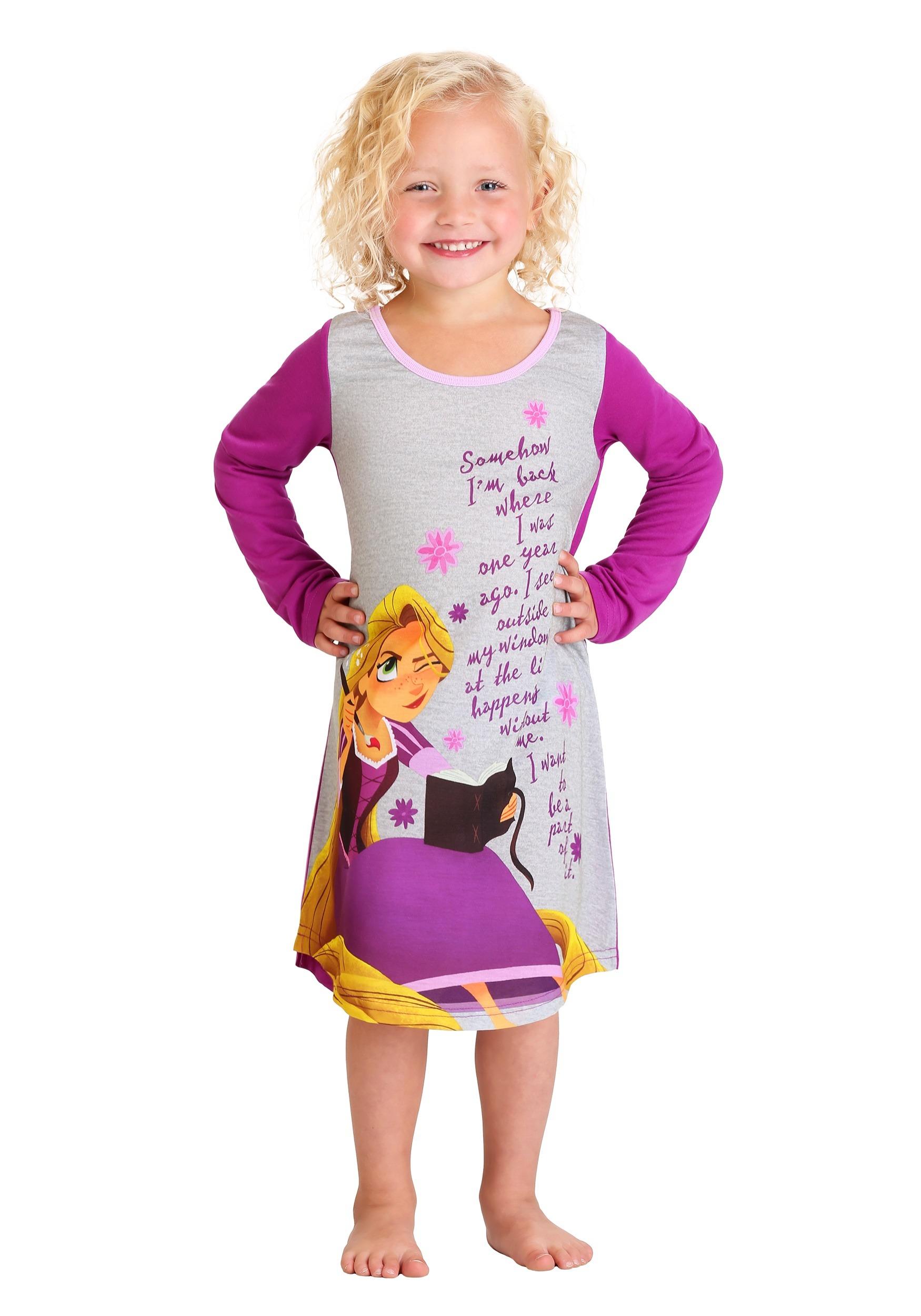 Disney\'s Rapunzel Girls Nightgown