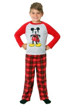 Mickey Mouse Boys Fleece Pajama Set