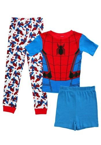 Spider-Man Boy's 3 Piece Pajama Set Update Main
