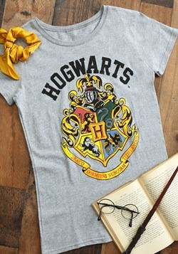 Harry Potter Hogwarts Crest Womens Tee Upd