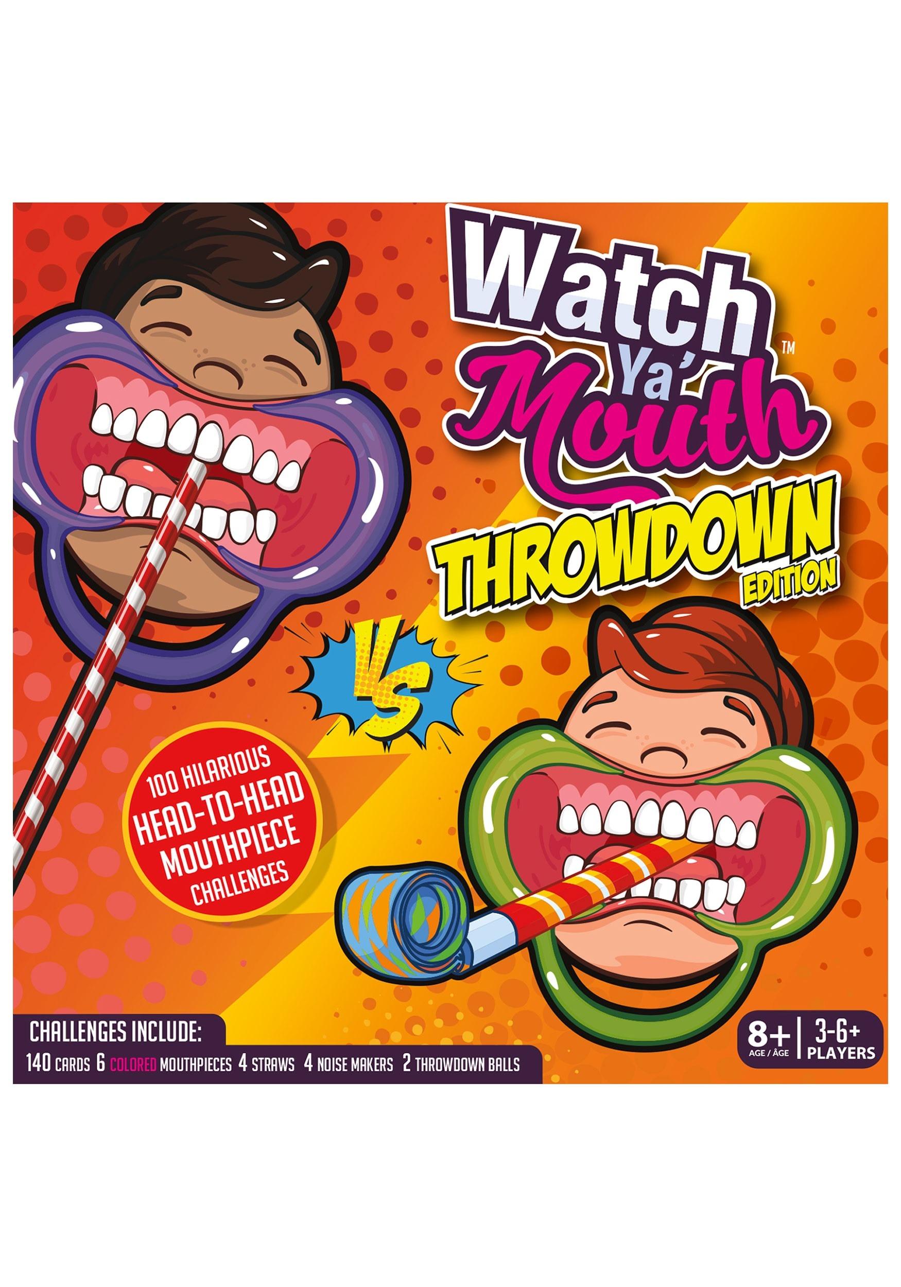 Watch Ya' Mouth Throwdown Edition Game