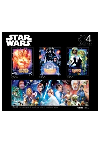 4-in-1 Star Wars Multipack Puzzle Collector's Edit1