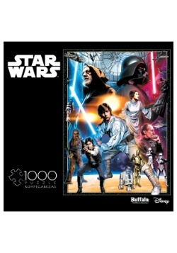 Star Wars Vintage Art: The Circle Is Now Complete Puzzle