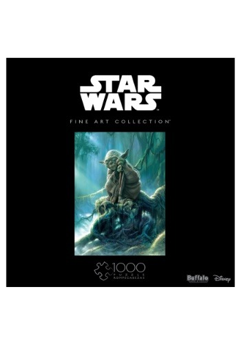 Star Wars Fine Art Collection- Yoda 1000 pc Puzzle