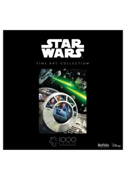 Star Wars Fine Art Collection Never Tell Me The Odds Puzzle