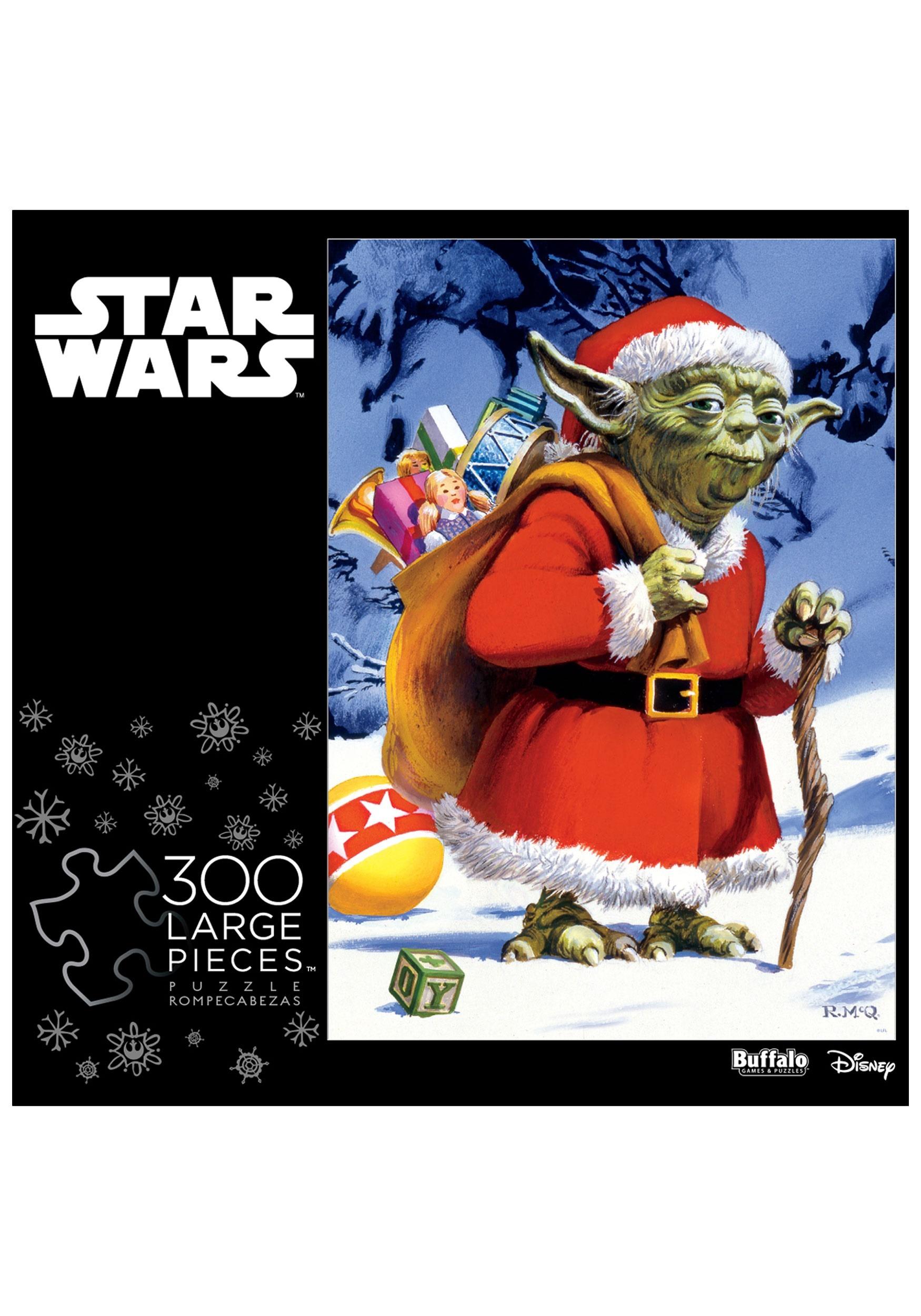 Star Wars Holiday Yoda 300 Piece Jigsaw Puzzle