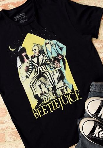 Beetlejuice Men's Black Tee Main UPD