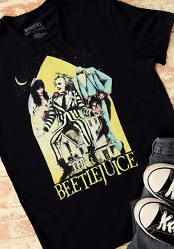 Beetlejuice Men's Black Tee Main UPD