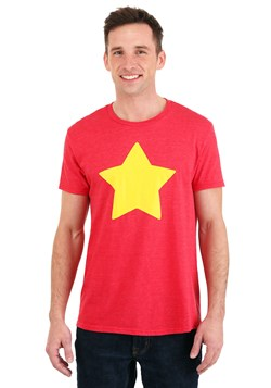 Men's Steven Universe Star T-Shirt New Model Shot